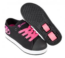 Heelys X2 Fresh Black-Pink-White